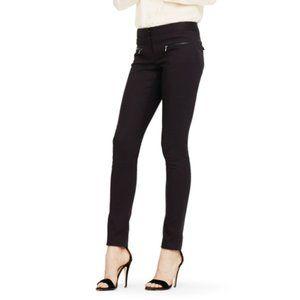 club monaco • black cotton emily skinny slim pant